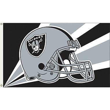 Annin Flagmakers NFL Team Flag; Oakland Raiders