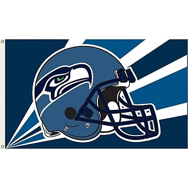 Annin Flagmakers NFL Team Flag; Seattle Seahawks