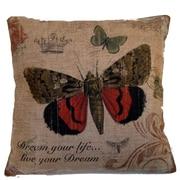 Elegant Decor Butterfly Throw Pillow