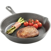 VonShef 10'' Pre-seasoned Cast Iron Non-Stick Frying Pan/Skillet