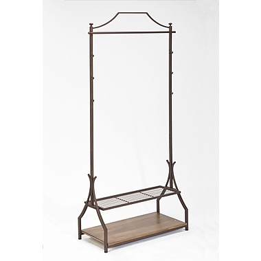 Tripar Floor Rack Valet Stand; Bronze