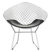 C2A Designs Bertoia Papasan Chair; Black