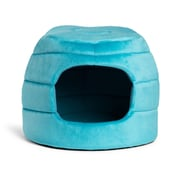 Best Friends By Sheri 2-in-1 Honeycomb Hut Cuddler; Turquoise