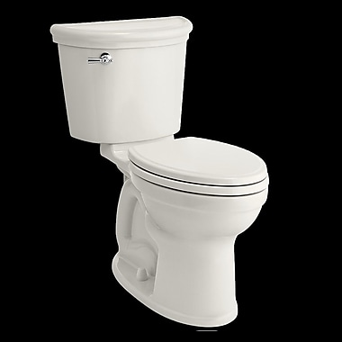 American Standard Champion 1.28 GPF Elongated Two-Piece Toilet; White