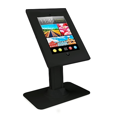 Mount-It! Tablet Stand Anti-Theft Kiosk Mount Apple iPad Holder, Black (Mi-3771)