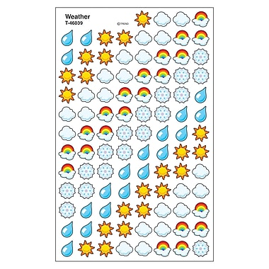 Trend Enterprises® SuperShapes Stickers, Weather