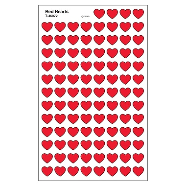 Trend Enterprises® SuperShapes Stickers, Red Hearts