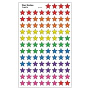 Trend Enterprises SuperShapes Stickers, Star Smiles, 8000/Set