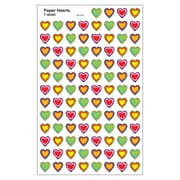 Trend Enterprises® SuperShapes Stickers, Paper Hearts