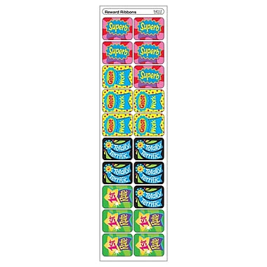 Trend Enterprises® Applause Stickers, Reward Ribbons