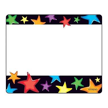 Trend Enterprises® pre-kindergarten - 9th Grades Name Tag, Gel Stars
