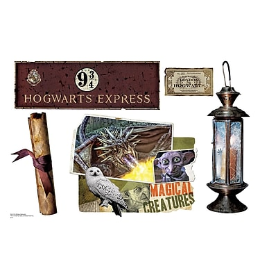 Advanced Graphics Harry Potter 7 HPotter Elements Wall Decal