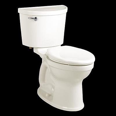 American Standard Champion 1.6 GPF Elongated Two-Piece Toilet; White