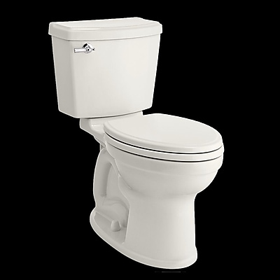 American Standard Champion Portsmouth 1.28 GPF Elongated Two-Piece Toilet; White