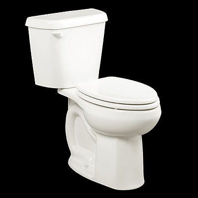 American Standard Colony 1.6 GPF Elongated Two-Piece Toilet; White