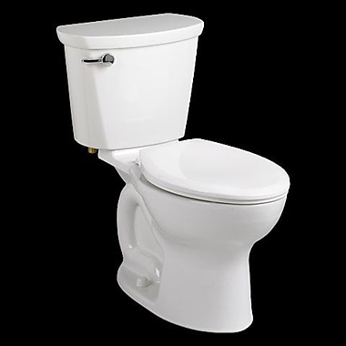 American Standard Cadet 1.6 GPF Elongated Two-Piece Toilet; White