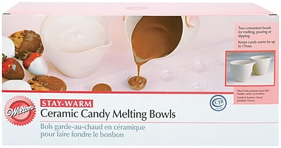 Wilton 2 Piece Candy Melting Cup and Bowl Set WYF078278123700