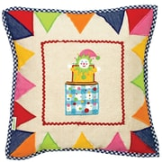 Win Green Toy Shop Throw Pillow Cover