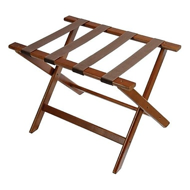 Central Specialties LTD Deluxe Wood Luggage Rack w/ Strap