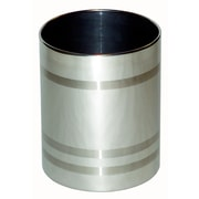 Central Specialties LTD Stainless Steel Waste Basket