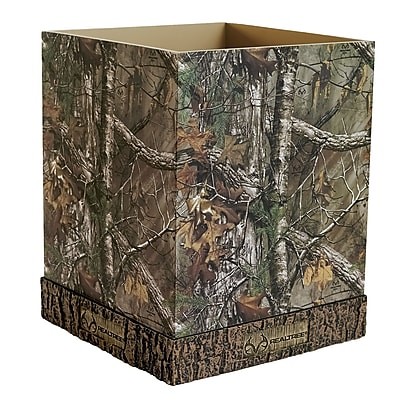 Realtree Plastic Waste Basket