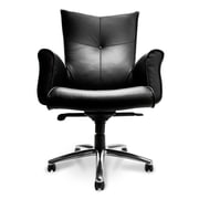 Compel Office Furniture Mahari Mid-Back Leather Desk Chair