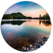 DesignArt Lake Allatoona at Red Top Mountain Photographic Print on Metal; 11'' H x 11'' W x 1'' D
