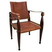 Authentic Models Gaucho Field Leather Guest Chair