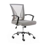 Vandue Corporation Mid-Back Office Chair; Black/Gray