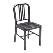 Vandue Corporation Retro Side Chair; Matte Black