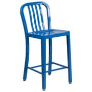Alston 24'' Bar Stool; Blue