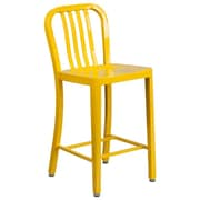 Alston 24'' Bar Stool; Yellow