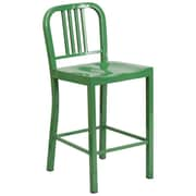 Alston 24'' Bar Stool; Green