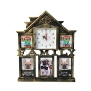 Wee's Beyond Family House Collage Picture Frame; Brass