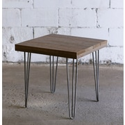 Hobbitholeco. 20'' X 20'' Brown End Table