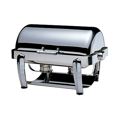 SMART Buffet Ware Odin Oblong Roll Top Chafing Dish w/ Plated Legs