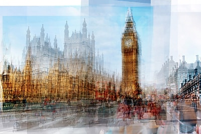 Marmont Hill 'Big Ben' by Chris Albert Photographic Print on Wrapped Canvas; 20'' H x 30'' W