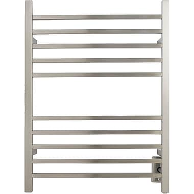 Amba Radiant Wall Mount Electric Towel Warmer; Brushed