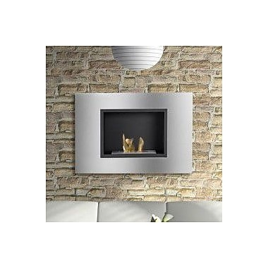 Ignis Quadra Wall Mounted Ethanol Fireplace