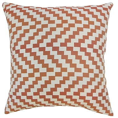 The Pillow Collection Fai Geometric Throw Pillow