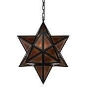 CrystalWorld Astoria 3-Light LED Geometric Pendant