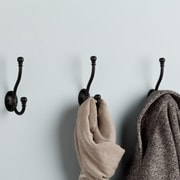 Franklin Brass Ball End Coat and Hat Wall Hook (Set of 5)