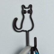 Franklin Brass Wire Cat Wall Hook