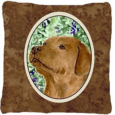 Caroline's Treasures Labrador Indoor/Outdoor Throw Pillow