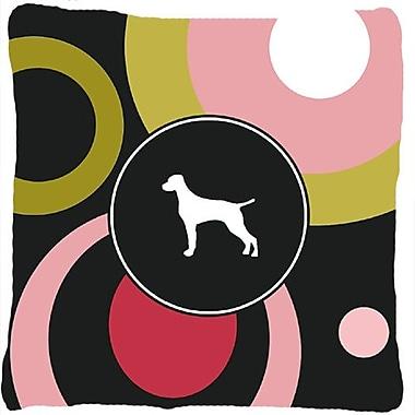 Caroline's Treasures Vizsla Indoor/Outdoor Throw Pillow