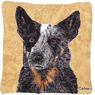 Caroline's Treasures Australian Cattle Dog Indoor/Outdoor Throw Pillow