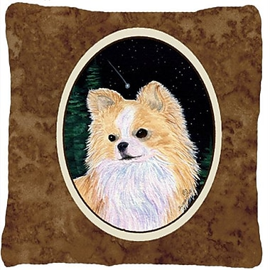Caroline's Treasures Starry Night Chihuahua Indoor/Outdoor Throw Pillow