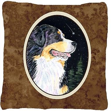 Caroline's Treasures Starry Night Bernese Mountain Dog Indoor/Outdoor Throw Pillow