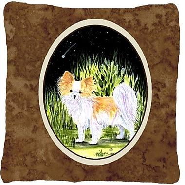 Caroline's Treasures Starry Night Chihuahua Indoor/Outdoor Throw Pillow