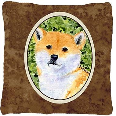 Caroline's Treasures Shiba Inu Indoor/Outdoor Throw Pillow